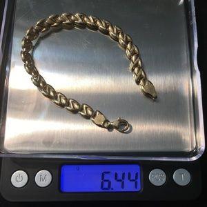 14KT Gold 7 in bracelet